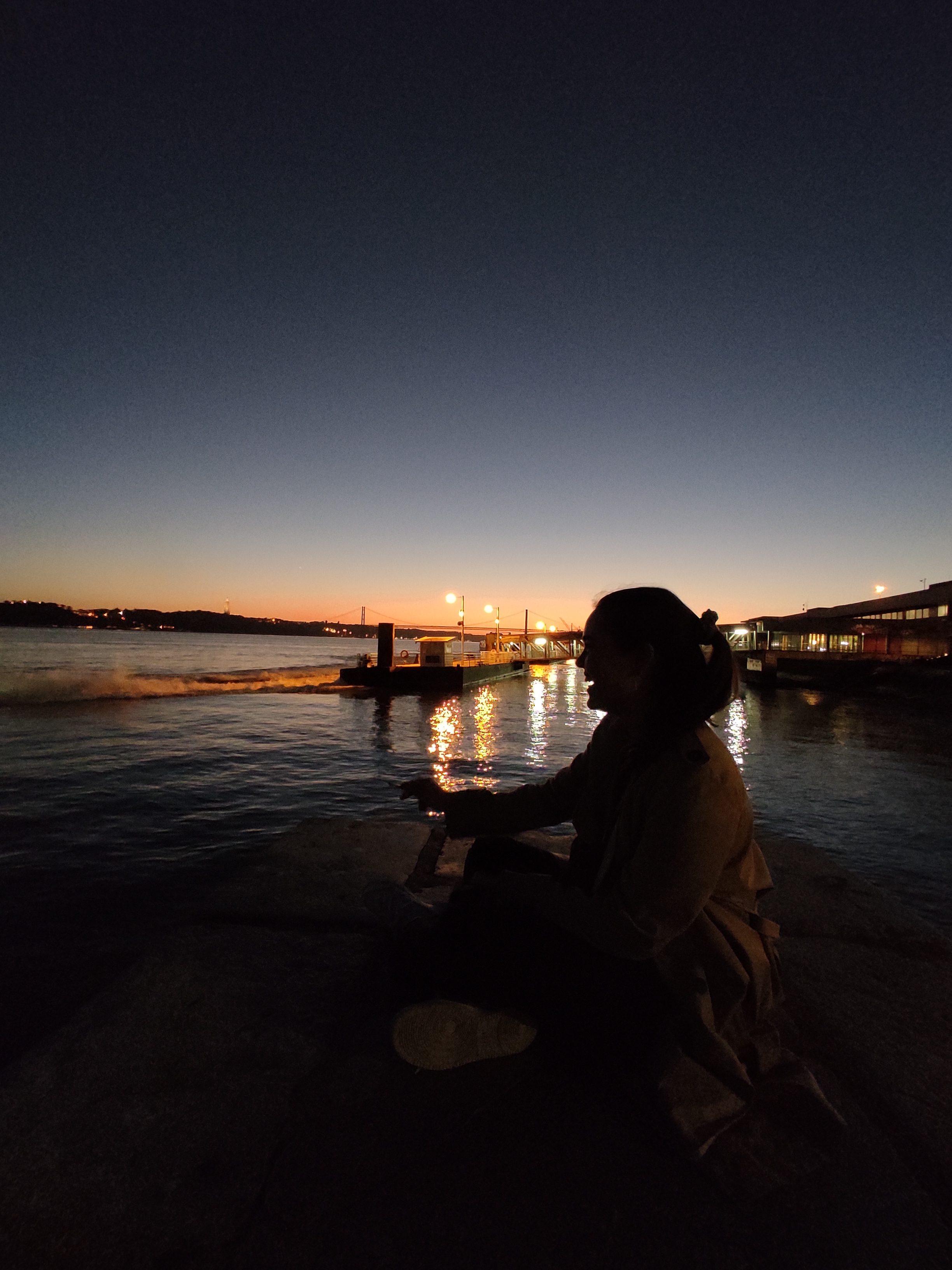 Sunset at Cais do Sodré