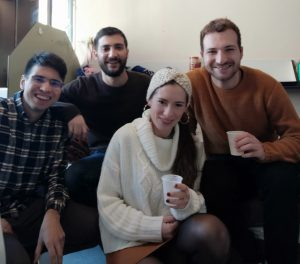 Elisa e altri volontari europei
